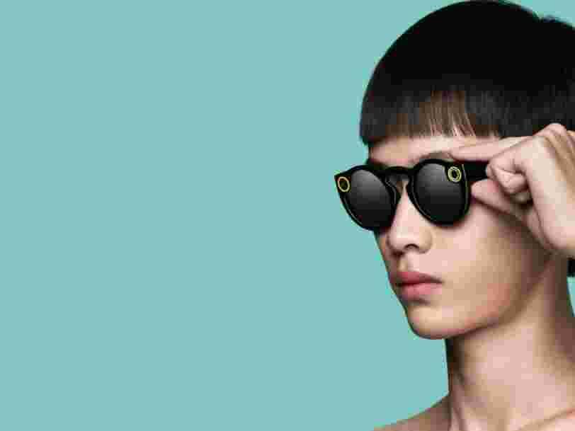 Snap serait sur le point de lancer 2 nouvelles paires de lunettes connectées — la première version des Spectacles avait fait un flop