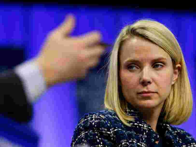 Marissa Mayer reproche aux investisseurs activistes d'avoir fait perdre à Yahoo des dizaines de milliards de dollars en vendant des parts dans Alibaba
