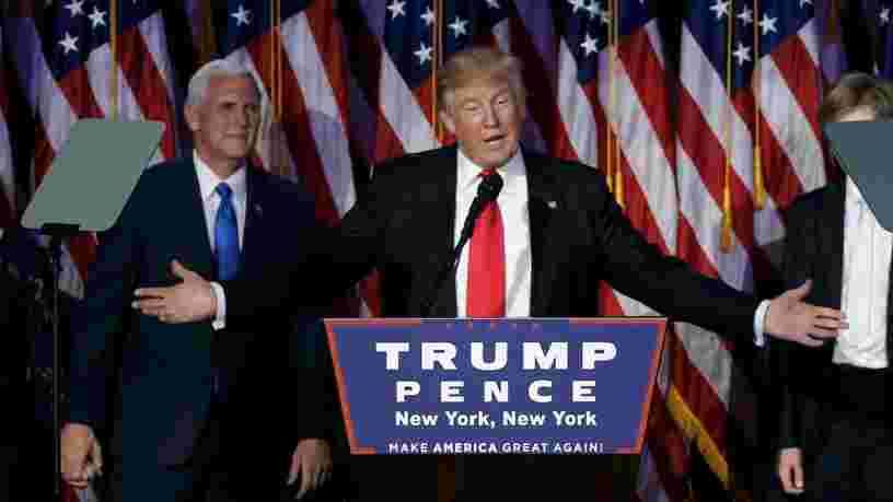 Donald Trump surprend le monde entier et remporte l'élection présidentielle américaine