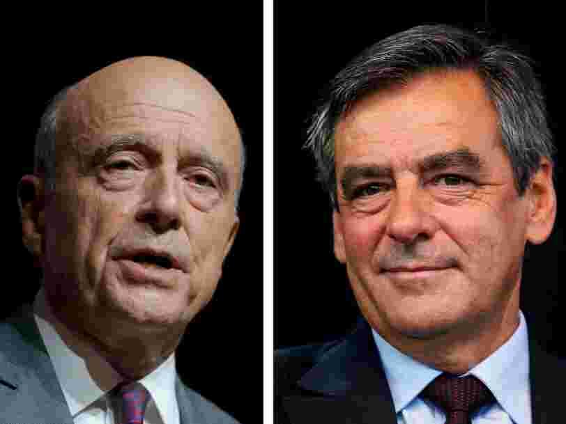 François Fillon s'offre une victoire surprise au premier tour de la primaire de la droite et affrontera Alain Juppé au second tour
