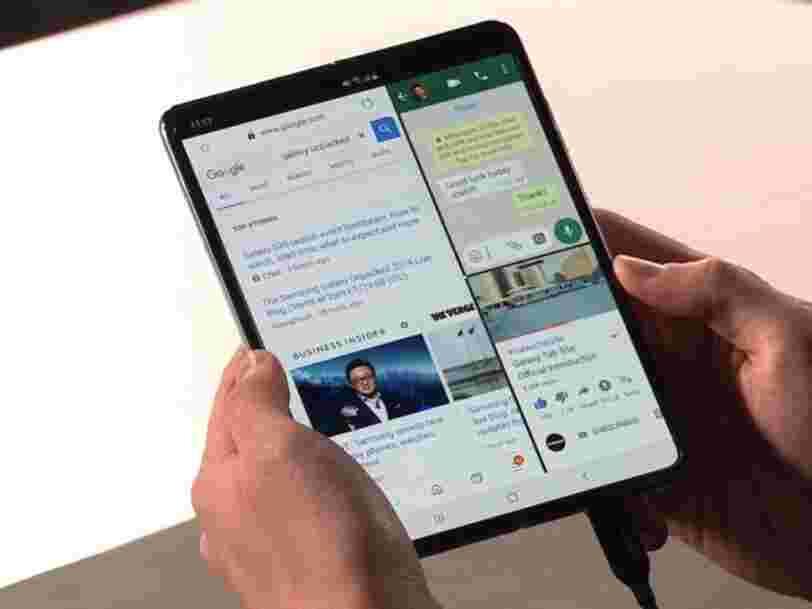 Samsung retarde la sortie de son Galaxy Fold... et les 6 autres choses à savoir dans la tech ce matin