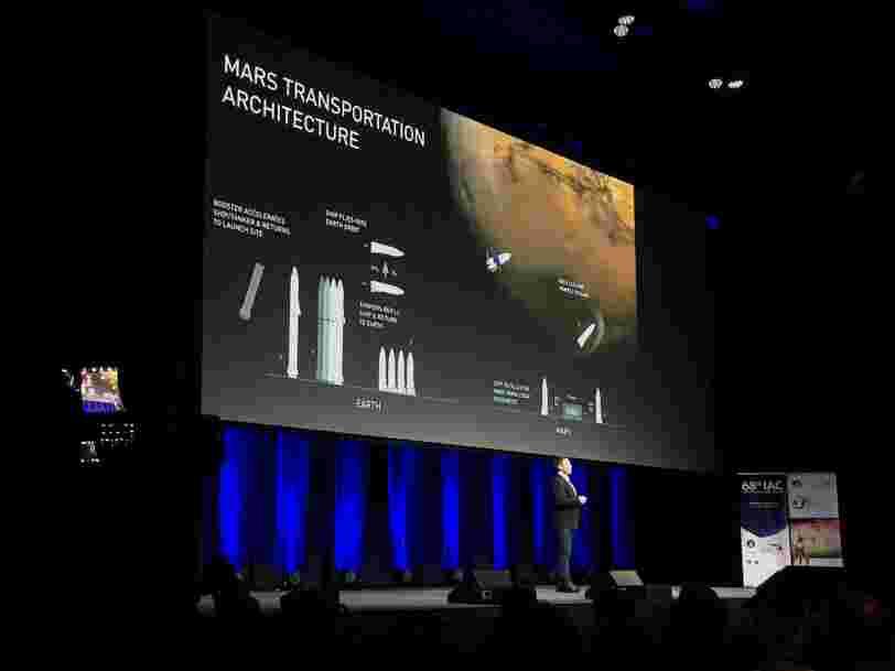 Un scientifique dit que le projet d'Elon Musk pour Mars pourrait rencontrer plusieurs obstacles — et ils ne sont pas techniques