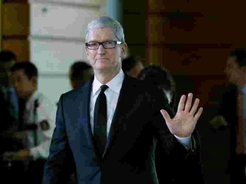 Apple enregistre sa première baisse de chiffre d'affaires sur un an depuis 2001