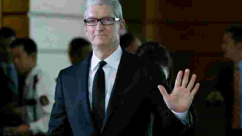 Apple a fait son premier investissement dans l'éolien