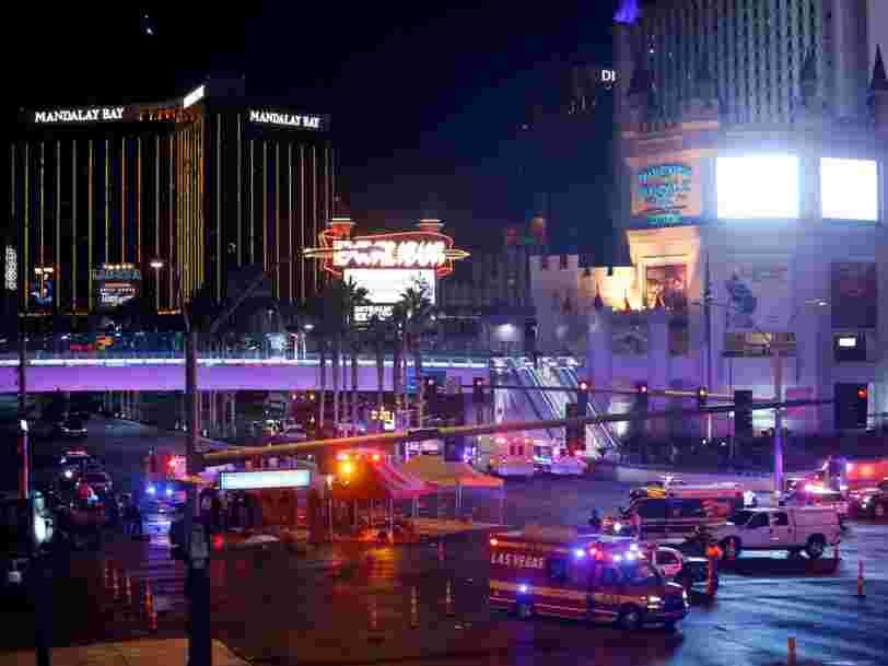 Une fusillade à Las Vegas a fait au moins 59 morts et plus de 527 blessés