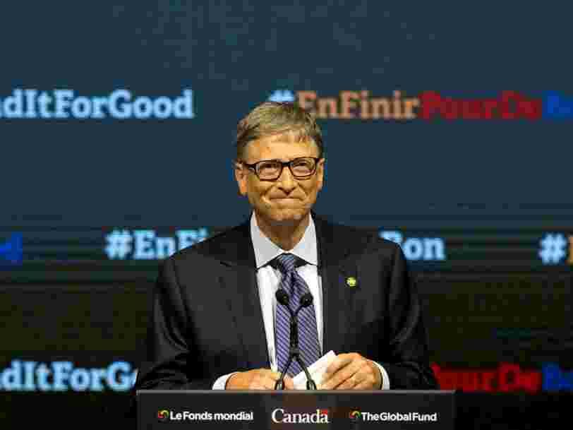Voici un conseil que Bill Gates donnerait au jeune de 19 ans qu'il était