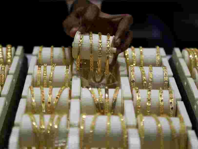 La hausse du cours de l'or est (en partie) liée aux mariages en Inde