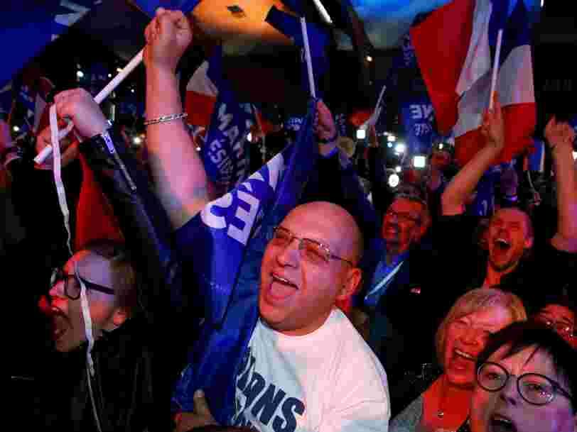 Marine le Pen se présente au second tour de la présidentielle avec près de 3 millions de voix de plus que son père en 2002