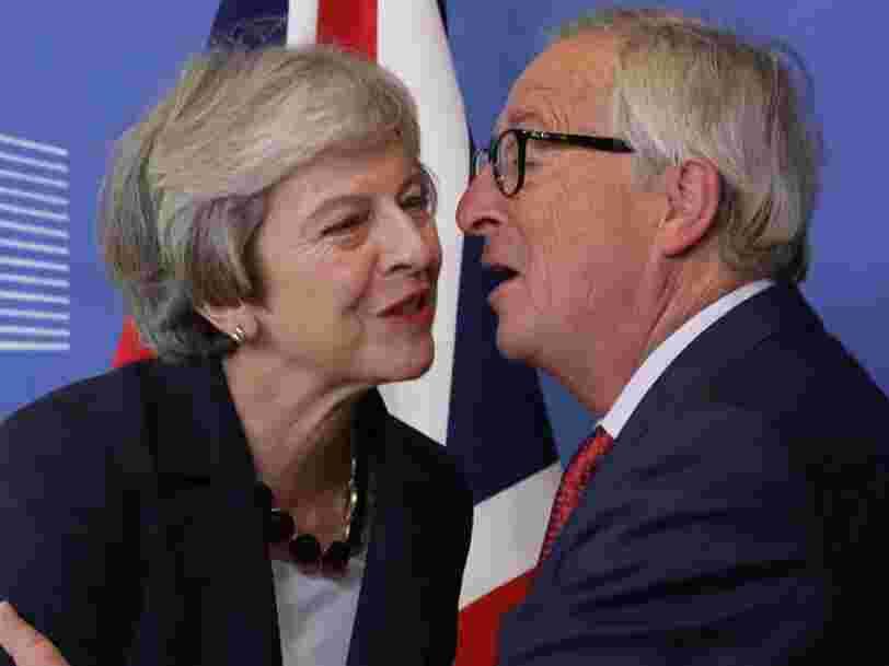 Theresa May propose de prolonger la période de transition du Brexit d'une année supplémentaire