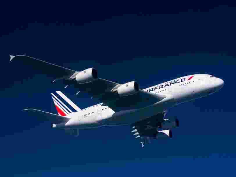 Le nouveau patron d'Air France est tellement sûr de lui qu'il va investir 450.000€ dans la compagnie