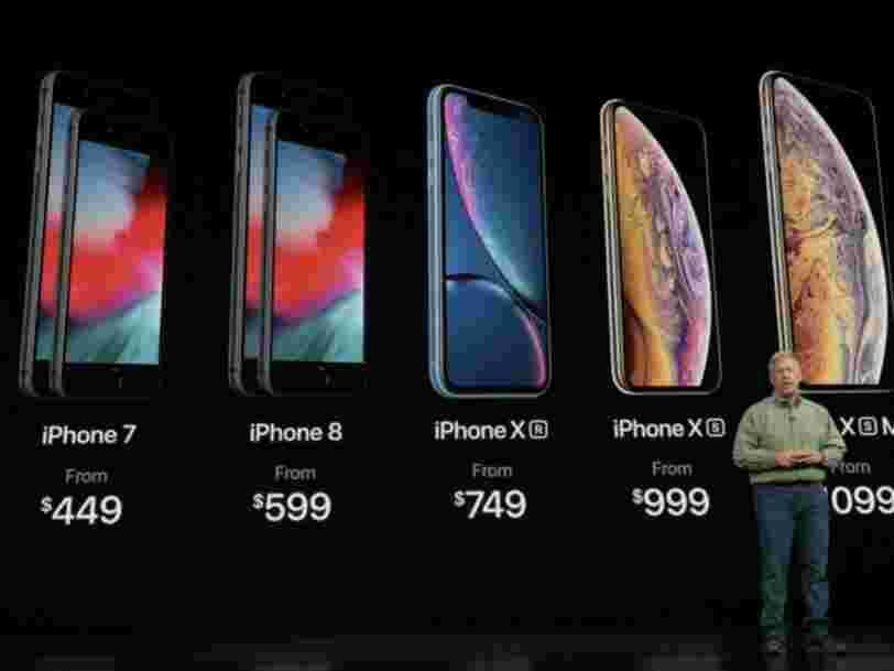 Apple a discrètement éliminé de sa gamme 4 anciens modèles d'iPhones — dont les dernières versions qui avaient une prise jack