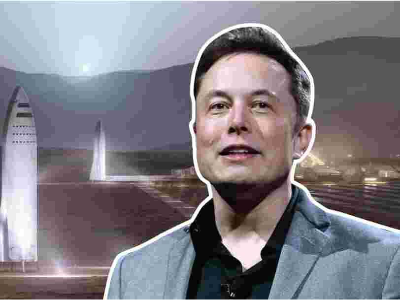 Elon Musk annonce que le Starship de SpaceX pourrait être mis en orbite d'ici 2 ans — voici la dernière photo en date de la construction de la fusée