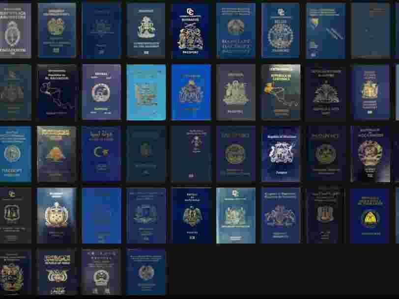 Les passeports britanniques seront bleu et doré après le Brexit
