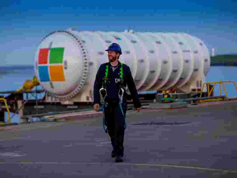 Ce fleuron français de l'industrie navale vient d'immerger un data center au nord de l'Ecosse pour Microsoft — et tout est parti d'une conversation sur le cloud