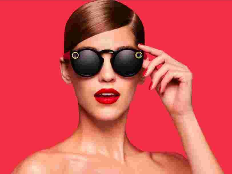 Snapchat a commencé à vendre ses lunettes connectées 'Spectacles' en ligne