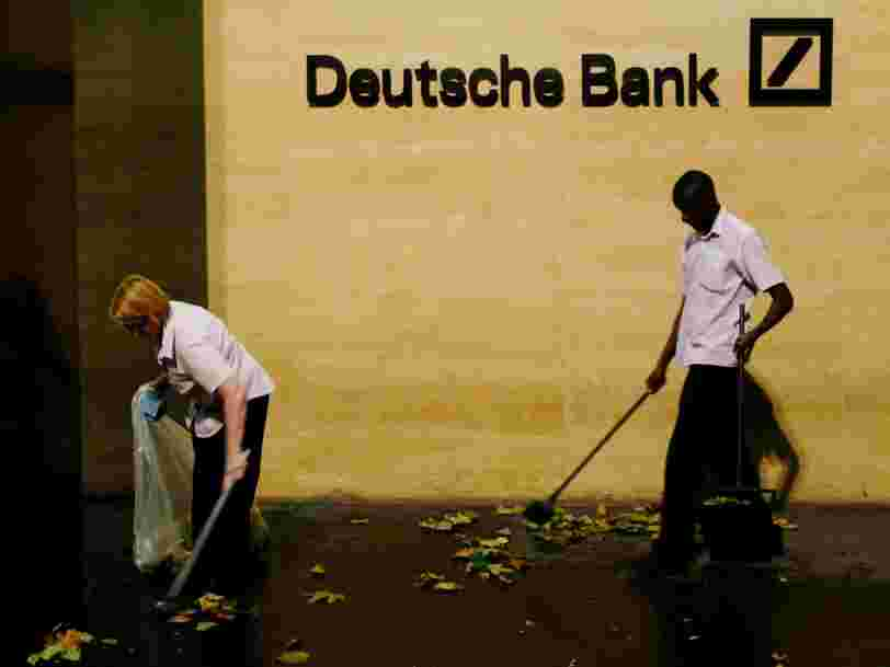 Pourquoi Deutsche Bank veut solder son amende de $14 Mds le plus vite possible