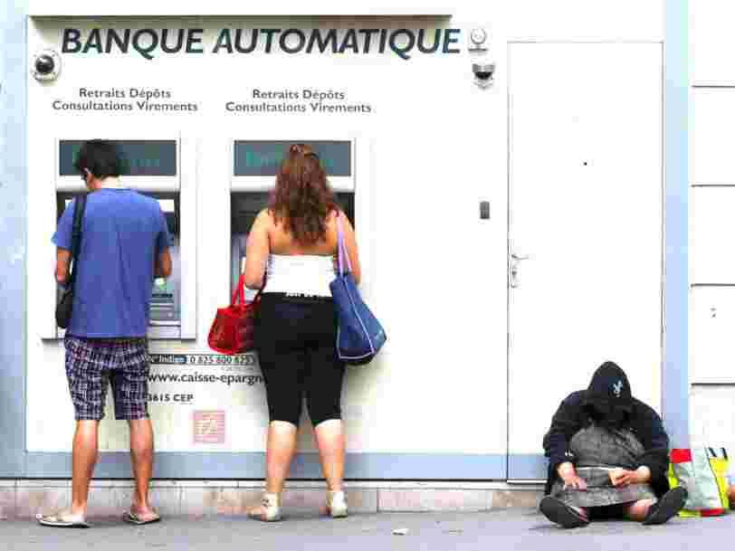 La Banque centrale européenne admet que les Européens sont devenus plus pauvres