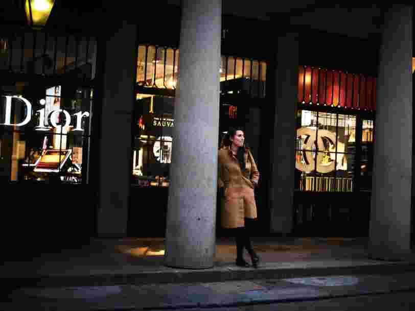 LVMH monte en Bourse après avoir révélé son projet de racheter Christian Dior Couture