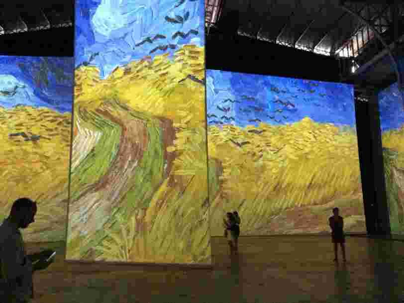 J'ai visité une exposition immersive sur Van Gogh — et j'ai compris pourquoi les musées pourraient se passer d'œuvres originales dans le futur