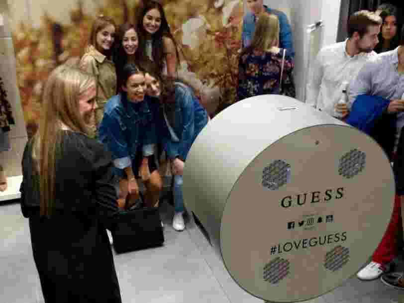 Une enquête essaie de déterminer si Guess a empêché certains de ses consommateurs européens d'acheter les produits de la marque à l'étranger