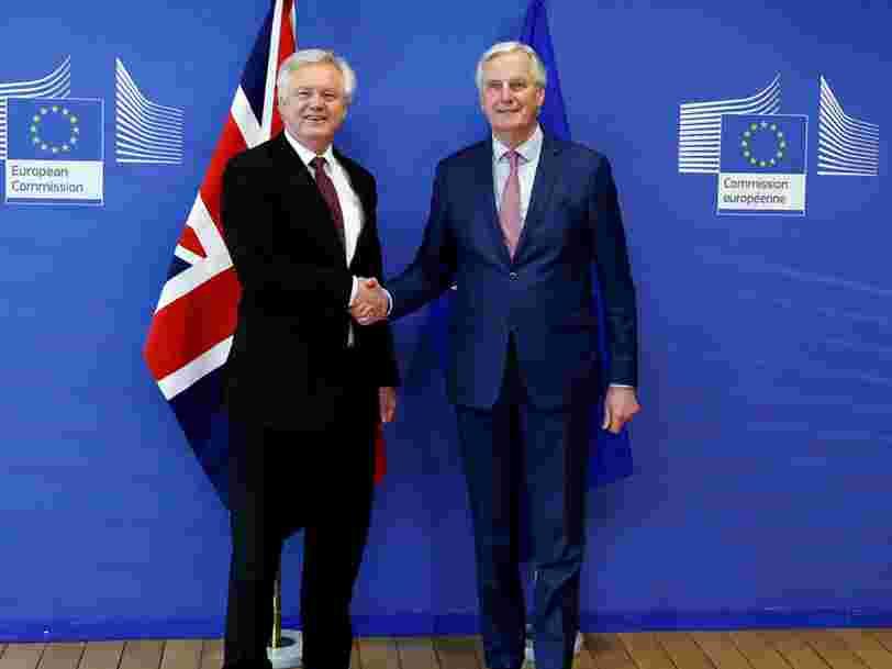 Le Royaume-Uni et l'UE ont trouvé un accord sur la transition post-Brexit