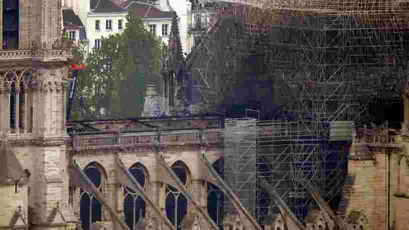 Il faudra beaucoup plus que '5 années' pour reconstruire Notre-Dame selon des experts