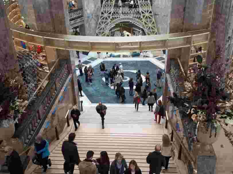 On a visité le nouveau magasin Galeries Lafayette des Champs-Elysées,et il rompt avec les codes de l'enseigne