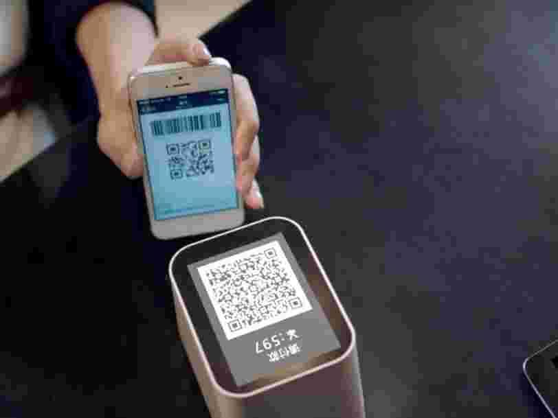 Les Galeries Lafayette proposent désormais le paiement par mobile — mais c'est plutôt destiné aux Chinois