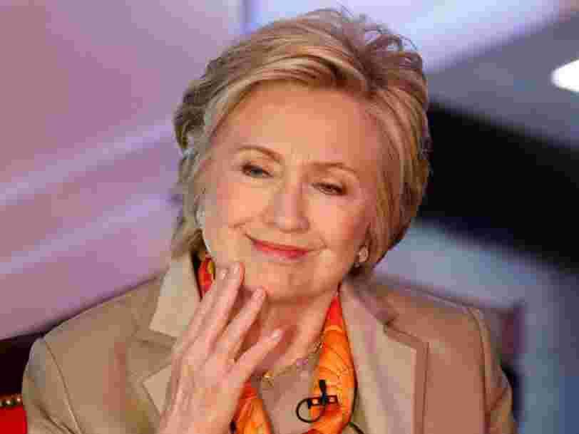 Hillary Clinton a réglé ses comptes avec les médias dans son tweet félicitant Emmanuel Macron