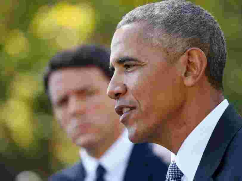 Barack Obama est déterminé à faire aboutir l'accord commercial que les Européens refusent encore de signer