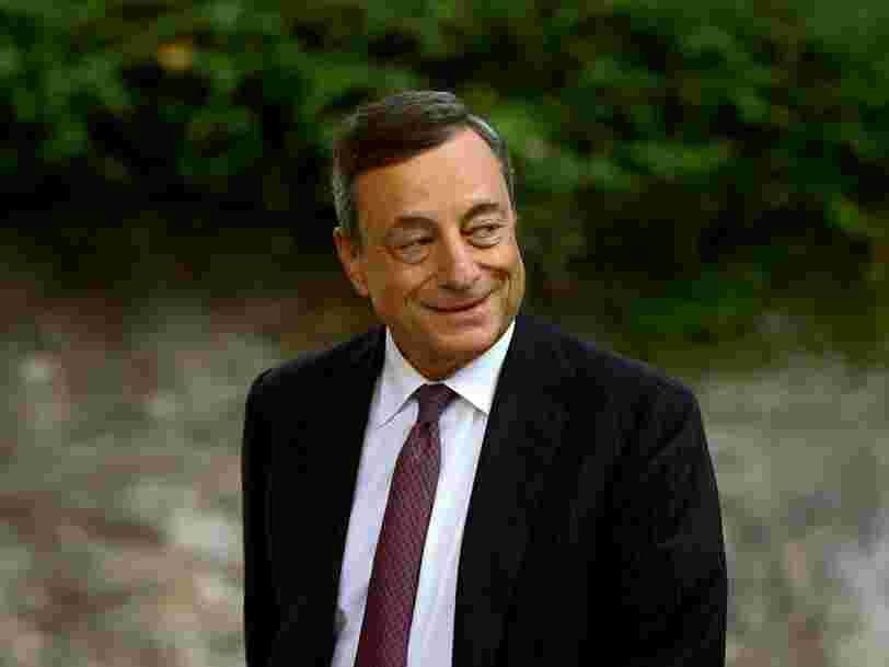La BCE maintient sa politique monétaire inchangée —Mario Draghi donne rendez-vous en octobre