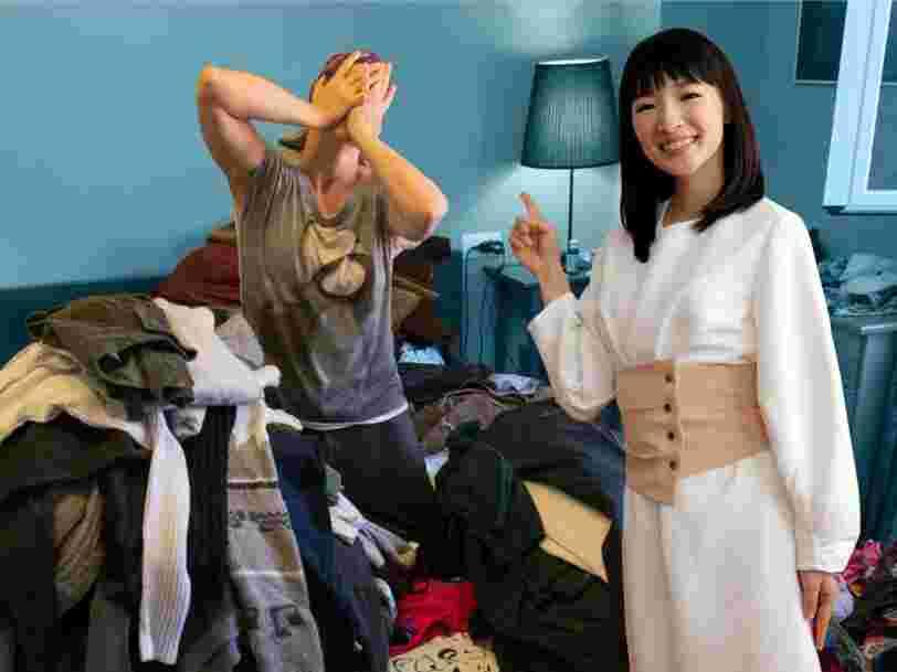 'Tidying Up', la série Netflix de Marie Kondo est devenue virale après avoir 'changé des vies', mais selon des experts, avoir un espace rangé ne convient pas à tout le monde