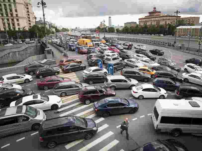 Les 13 villes européennes avec les pires embouteillages