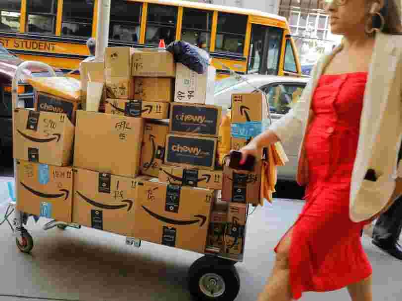 Amazon fait le choix de réduire encore ses délais de livraison et sa marge trinque