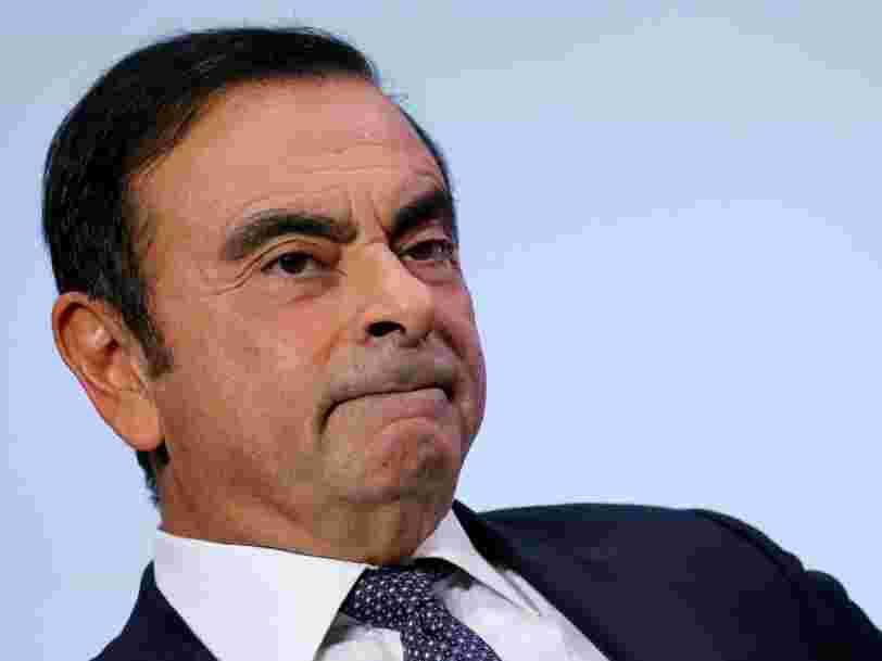 Carlos Ghosn vient d'être inculpé de 2 nouveaux chefs d'accusation par le parquet de Tokyo