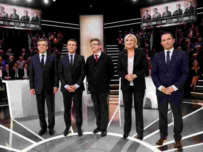 Les déclarations les plus importantes du premier débat de l'élection présidentielle française 2017