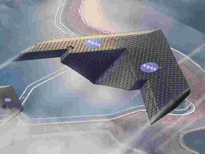 La NASA et le MIT ont créé une aile d'avion super flexible qui pourrait tout changer