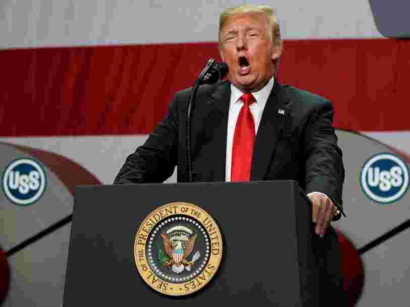 Trump accuse Google de partialité dans les résultats de recherche et dit que 'c'est une situation qui sera corrigée'