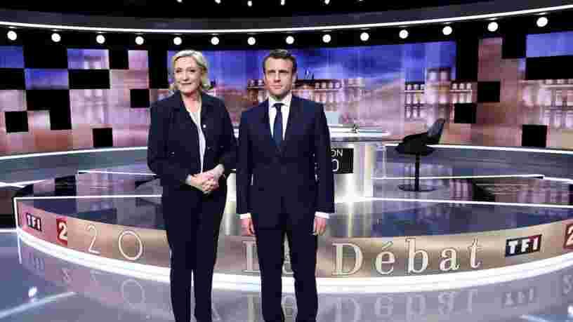 Les déclarations les plus importantes du débat entre Marine Le Pen et Emmanuel Macron