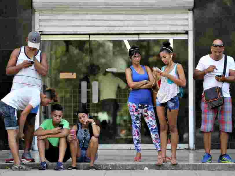 Google est la première entreprise étrangère à fournir de l'internet à Cuba