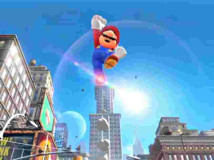 Nintendo voit son chiffre d'affaires s'envoler grâce au succès de sa console Switch