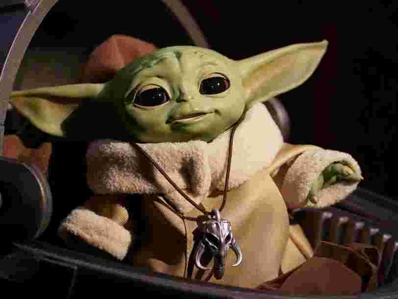 Le coronavirus pourrait entraîner une pénurie de jouets Baby Yoda de la marque Hasbro