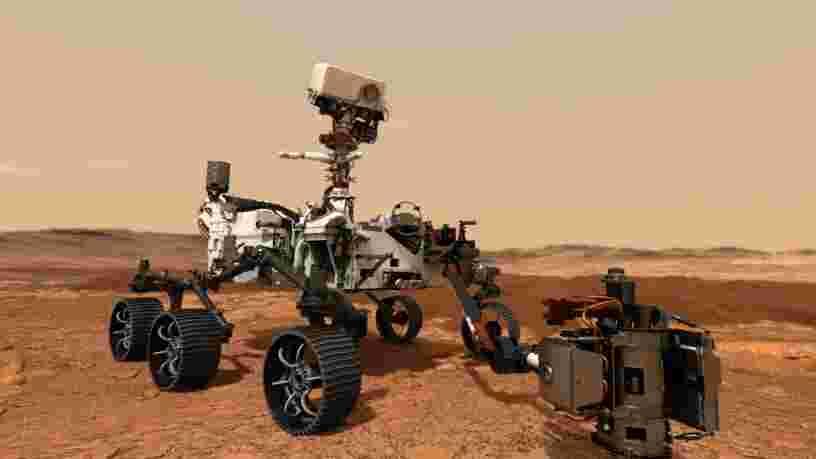 Le prochain rover martien de la NASA s'appellera 'Perseverance', un nom proposé par un collégien américain