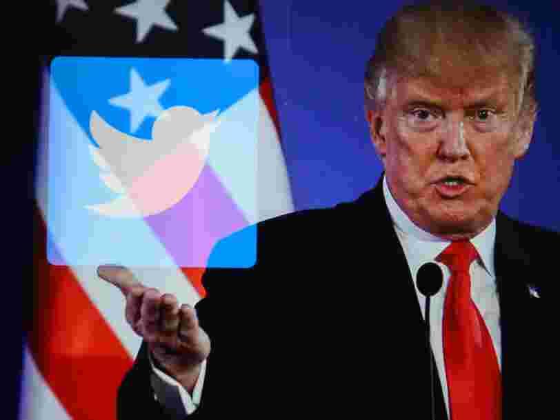 Twitter utilise pour la première fois un tag 'média manipulé' sur une vidéo de Joe Biden retweetée par Donald Trump