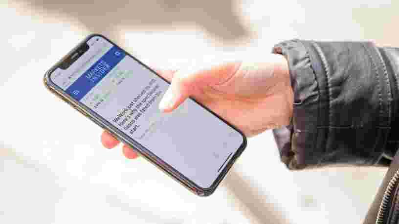Apple affirme désormais que vous pouvez nettoyer votre iPhone avec des lingettes désinfectantes