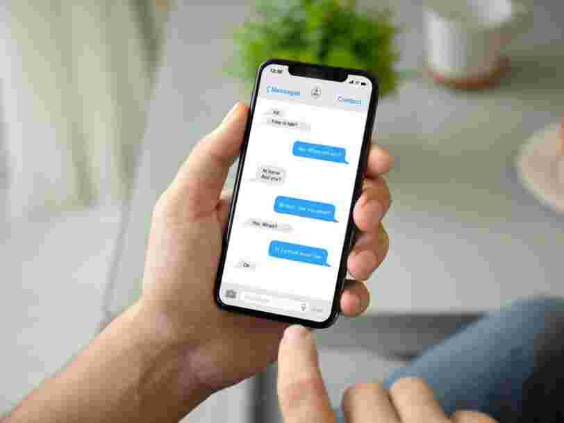 Apple pourrait vous permettre d'annuler l'envoi d'un texto dans la prochaine version d'iOS