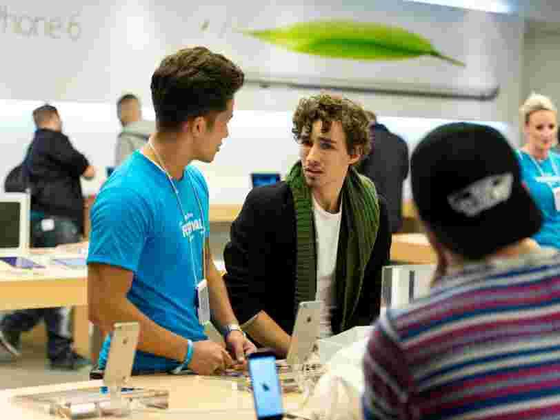 Apple limite les essais d'Apple Watch ou d'AirPods dans ses magasins pour éviter la propagation du coronavirus