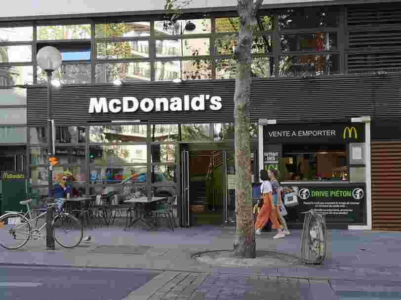 Après Uber Eats, McDonald's s'allie avec Deliveroo pour étendre la livraison à domicile en France