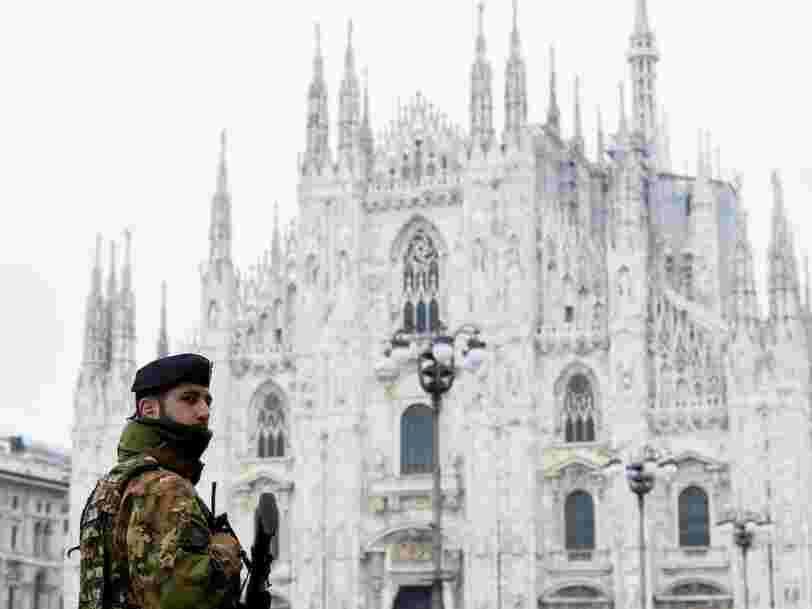 Le secteur du luxe va être encore plus impacté par le coronavirus avec l'Italie en quarantaine
