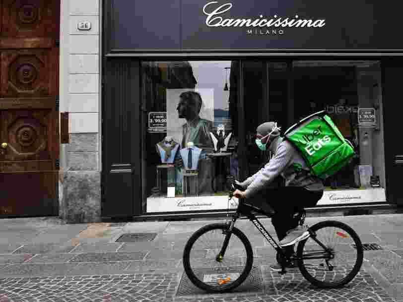 Deliveroo, Uber Eats, Frichti... comment ces applications s'organisent pour éviter la propagation du coronavirus